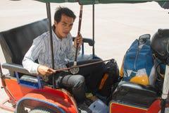 柬埔寨传统音乐家 免版税图库摄影