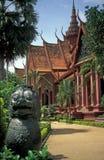 柬埔寨博物馆国民 免版税库存照片
