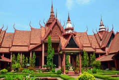 柬埔寨博物馆国民 库存照片