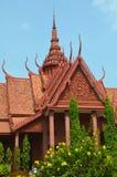 柬埔寨博物馆国民 库存图片