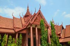 柬埔寨博物馆国民 图库摄影
