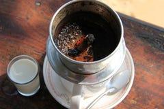 柬埔寨咖啡 免版税库存照片