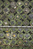 从柬埔寨土地去除的地雷 免版税库存照片