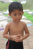 柬埔寨孩子 免版税库存照片