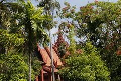 柬埔寨宫殿皇家penh的phnom 库存图片