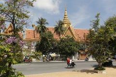 柬埔寨宫殿皇家penh的phnom 图库摄影