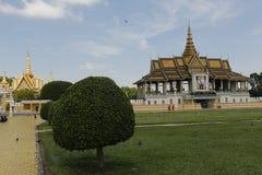 柬埔寨宫殿皇家penh的phnom 免版税库存照片