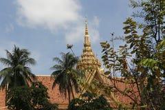 柬埔寨宫殿皇家penh的phnom 免版税图库摄影