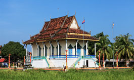 柬埔寨宫殿 库存图片