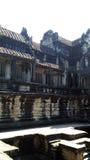 柬埔寨寺庙结构  免版税库存照片