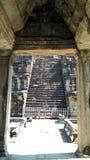 柬埔寨寺庙结构  免版税图库摄影
