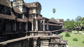 柬埔寨寺庙结构  免版税库存图片