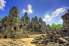 柬埔寨寺庙 免版税图库摄影
