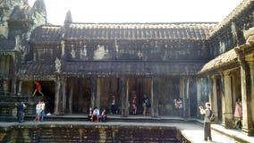 柬埔寨寺庙 免版税库存图片