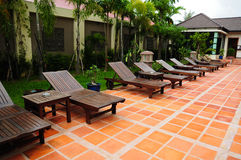 柬埔寨池游泳 库存照片