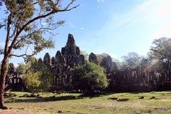 柬埔寨王国吴哥窟 图库摄影