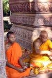 柬埔寨王国吴哥窟 库存照片