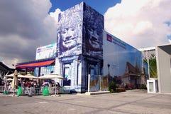 柬埔寨瓷expo2010亭子上海 免版税库存照片