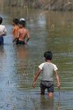 柬埔寨的男孩 免版税库存图片