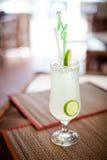 柬埔寨石灰玛格丽塔酒 库存照片