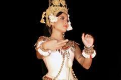 柬埔寨舞蹈 库存照片