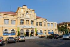 柬埔寨邮局 免版税库存图片