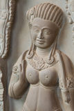 柬埔寨雕刻的石传统 免版税库存图片