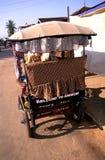柬埔寨驱动器moto收割siem 库存照片