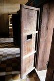 柬埔寨高棉penh粗砺phnom的监狱 免版税库存照片