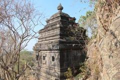 柬埔寨 聚会所玛哈Rosei寺庙 吴哥Borei市 茶胶寺省 免版税图库摄影