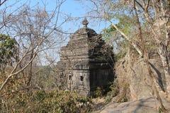 柬埔寨 聚会所玛哈Rosei寺庙 吴哥Borei市 茶胶寺省 免版税库存图片