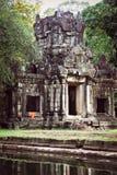 柬埔寨angkor王宫吴哥城寺庙, Gopura 免版税图库摄影