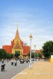 柬埔寨penh phnom 库存照片
