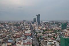 柬埔寨penh phnom 库存图片