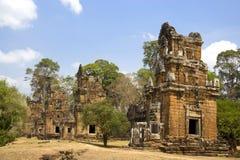 柬埔寨prasat prat suor 免版税图库摄影