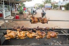 柬埔寨PREAH VIHEAR市餐馆 免版税库存照片