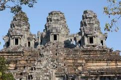柬埔寨takeo寺庙 免版税库存照片