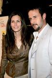 柯特妮・考克斯和大卫Arquette 免版税图库摄影
