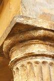 柱子的上面 库存图片
