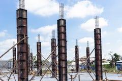 柱子建筑 库存照片