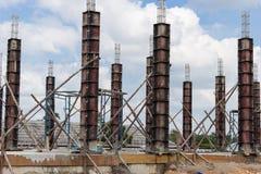 柱子建筑 库存图片