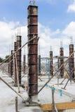 柱子建筑 免版税库存照片