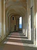 柱廊老别墅 免版税库存图片