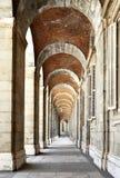 柱廊 免版税库存图片
