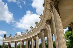 柱廊从18世纪在波茨坦 库存图片