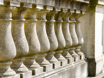 柱廊从18世纪在波茨坦 免版税图库摄影