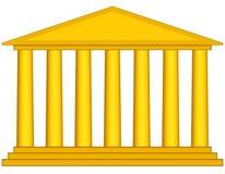 柱廊 向量例证