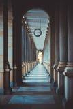 柱廊 免版税图库摄影