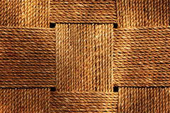 柳条制品模式 免版税图库摄影