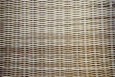 柳条和竹背景 免版税库存图片